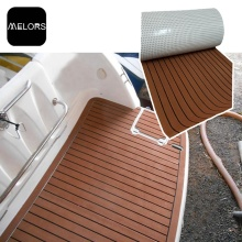 Rippe Boot EVA Faux Teak Decking Blatt