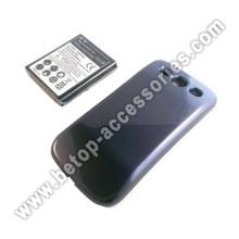 Bateria estendida com capa para Samsung I9300 S3