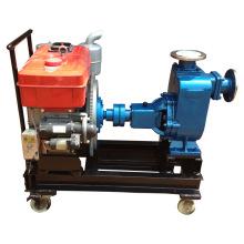 Solo-cilindro Diesel bomba de agua autocebante