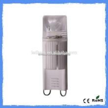 G9 a conduit l'ampoule haute qualité g9 ampoule led fabriquée en Chine