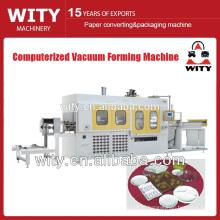 Полностью автоматизированная компьютеризированная машина для вакуумного формования пластиковых листов