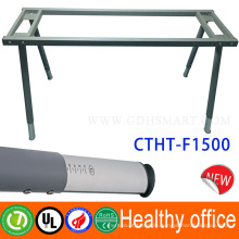 Manual height adjustable lifting desk office furniture standing desk Export to San Francisco