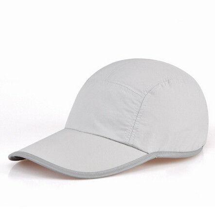5 Panel 100% Polyester Blank Golf Cap