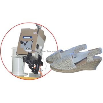 Moccasin Ornamental Stitching Machine for Espadrilles