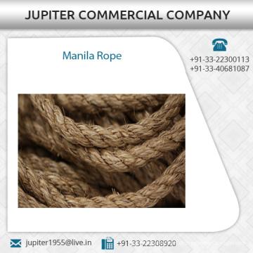 Vertrauenswürdiger Lieferant von Manila Seil in der kundenspezifischen Größe, die zum niedrigen Preis vorhanden ist