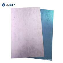 Holzoberflächen-Doppelseiten, die Metallpresse-Stahlplatte für die Kartenherstellung laminieren / Edelstahl-Platten-Presse auf Karten