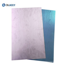Lado doble de doble cara laminada en metal placa de acero para la fabricación de tarjetas / placa de acero inoxidable prensa en tarjetas