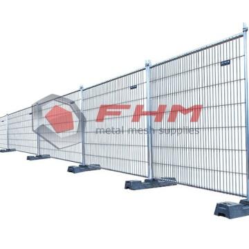 Tragbarer Zaun aus verzinktem Stahl für den Bau