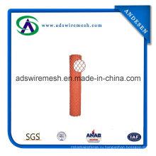 4'x50' оранжевый зеленый пластиковый забор безопасности
