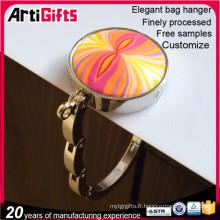 Crochets de sac à main personnalisé métal personnalisé pas cher à Dongguan