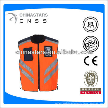 waterproof riding safety jacket
