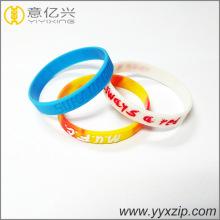 Weiches Sport-Silikon-Armband für Werbeartikel