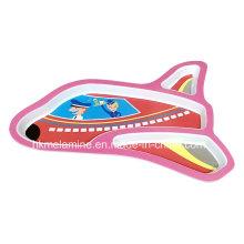 Kinder Melamin Flugzeug geformte Teller (PT180)