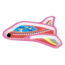 Kids Melamine Airplane Shaped Dinner Plate (PT180)