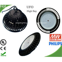 Lâmpada de LED UFO Industrial luz alta Baía UL 240W com grande dissipador de calor