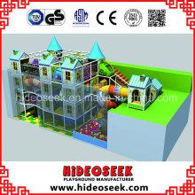Equipamento de Playground Indoor estilo castelo para venda