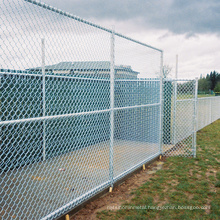 PVC Coated Chain Link Fence for garden / airport
