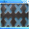 Diamant oder Rhombus Perforiertes Blech