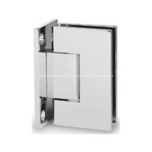 Bisagra de ducha de placa trasera completa de montaje en pared estándar