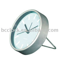 Metal table clock, Metal desk clock, Metal alarm clock