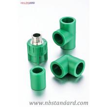PPR Fitting / Kunststoff Fitting / Messing Insert Fitting / Buchse und Außengewinde Fitting
