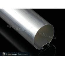 Perfil de carril de cabeza de aluminio de 38 mm con un grosor de 0,5 a 2,0 mm
