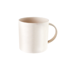 Bamboe Fiber Coffee Drinking Cup Met Handle