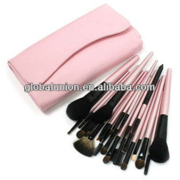 22 pcs makeup brush set pink