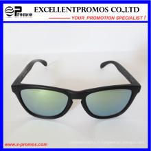 Lunettes de soleil promotionnelles bon marché avec lentille miroir (EP-G9218)