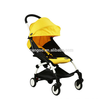 Rubber Wheel Baby Walker Alluminum Alloy Baby Stroller