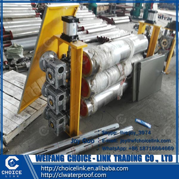 automatic SBS APP bitumen waterproof membrane production machinery