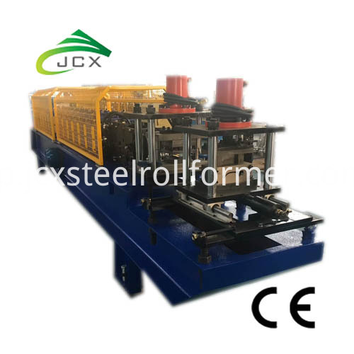 shutter door manufacturing machine