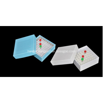 Freezing Cardboard Storage Box