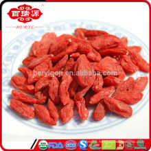 FDA registered organic dried wolfberry Ningxia dried wolfberry wholesale for lowering Blood Pressure