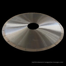 300mm Silver Brazed Diamond Saw Blade with J Slots