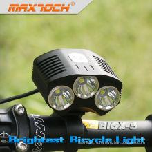 Maxtoch номер BI6X-5 3000lm Сид 4*18650 аккумуляторная интеллектуальный светодиодный велосипедов свет тормоза