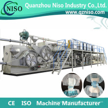 Fabricante adulto semi automático completo de la máquina del pañal con la certificación del CE