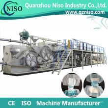 Полноавтоматическая полу Сервопривод для взрослых пеленки Производитель машина с аттестацией CE