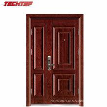 TPS-036 1A Stahlsicherheits-industrieller Sohn-und Mutter-Tür-Haupttür-Entwurf
