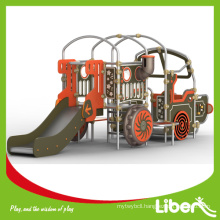 Truck Design PE Board Outdoor Playground Equipment for kids LE.PE.014