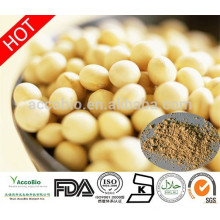 Hohe Qualität Sojabohnen Isoflavone Extrakt Pulver, natürliche wasserlösliche Soja Isoflavone 20% 40% 60%