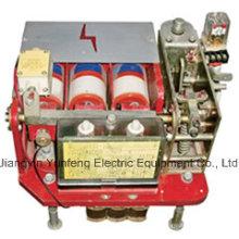 Chave de alimentação a vácuo para mina à prova de explosão-Dw80-400A
