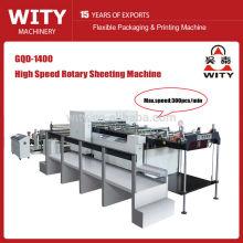 Máquina rotativa de papel de alta velocidad