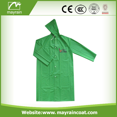 High Quality PVC Man Raincoat