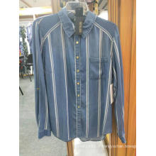 Chemises en jean sur mesure pour filles