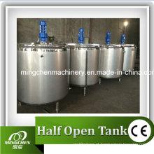 Tanque de mistura líquido do aço inoxidável