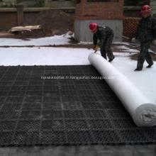 Géotextile non tissé à fibres longues de polyester environnemental