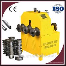 Quadrado de aço inoxidável de HHW-76B HHW-G76 / tubulação redonda / dobra do tubo / máquina de rolamento com CE