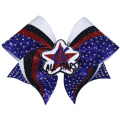 All Star Stripes Catching Cheer Bows
