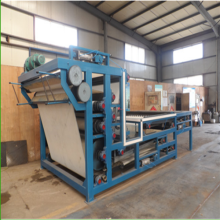 Belt filter press for wastewater
